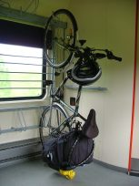 Bicycles can be transported simply and cheaply on Czech trains
