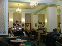 Interior of Cafe Elefant