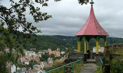 View over Karlovy Vary