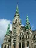 Spires of the Liberec town hall