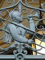 Detail from the Liberec town hall
