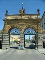 Gates of the Original Pilsner brewery