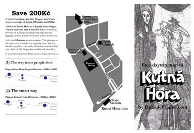 Kutna Hora Daytrip Map side two